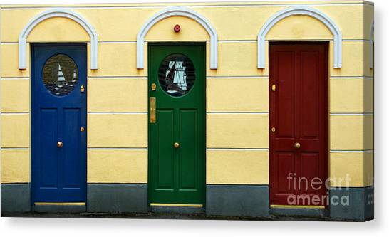 Three Doors Canvas Print