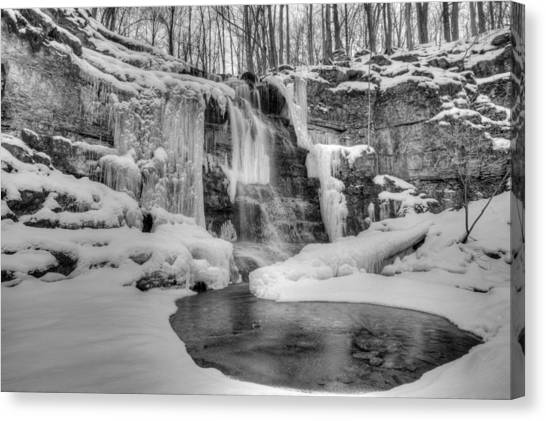 Three Falls Woods Canvas Print
