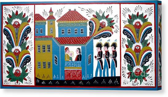 Three Kings Canvas Print by Leif Sodergren