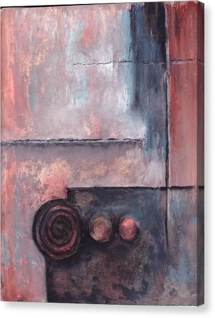 Three Knobs Canvas Print