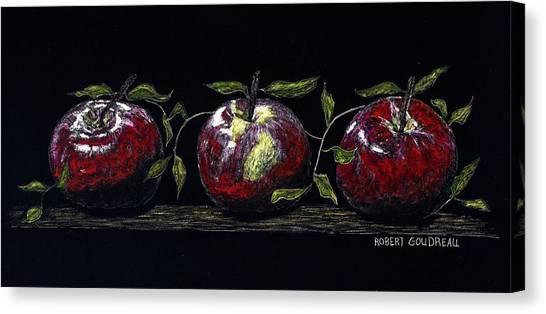 Three Macs Canvas Print by Robert Goudreau