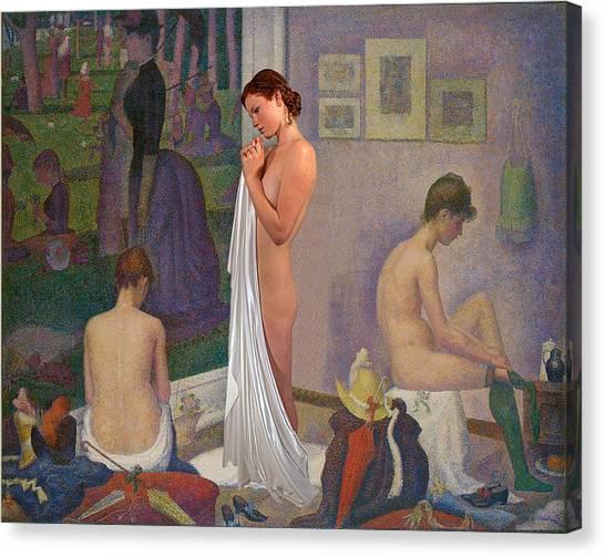 Three Muses Canvas Print