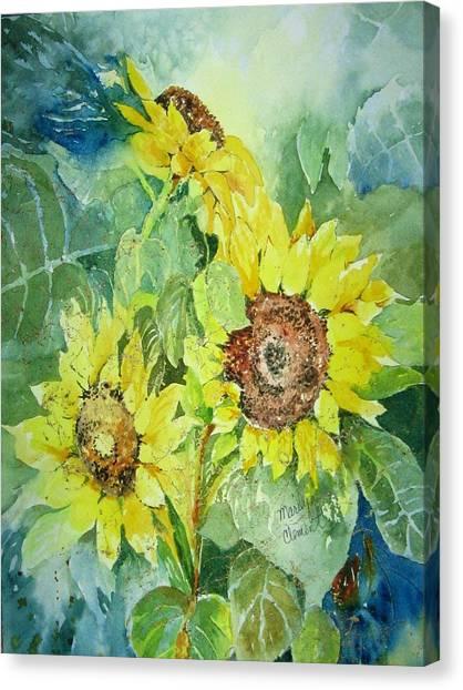Three Sunnies Canvas Print