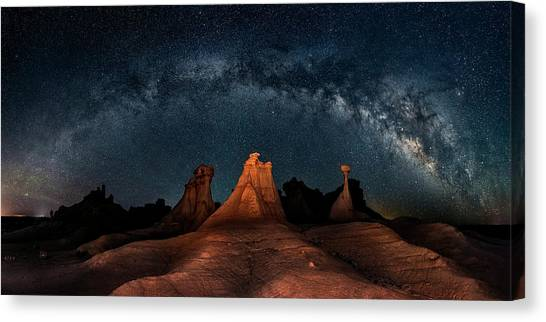 New Mexico Canvas Print - Three Wise Men by Hua Zhu