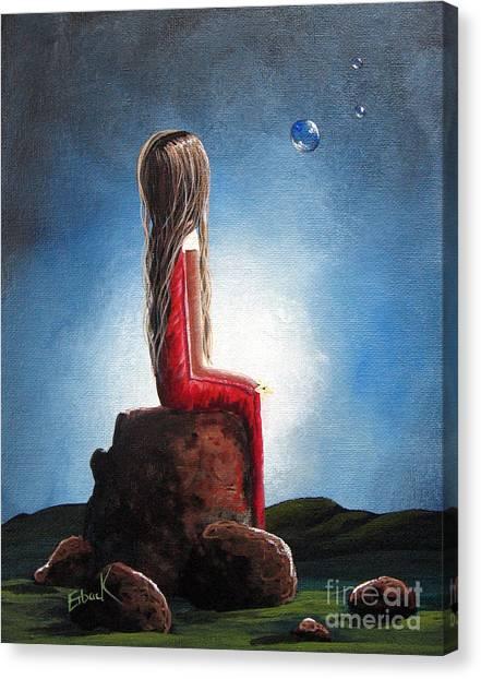 Three Wishes By Shawna Erback Canvas Print by Shawna Erback