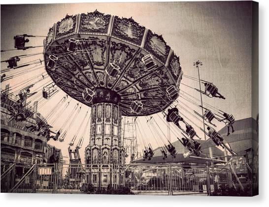 Thrill Rides Canvas Print