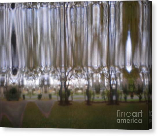 Through A Glass Darkly Canvas Print