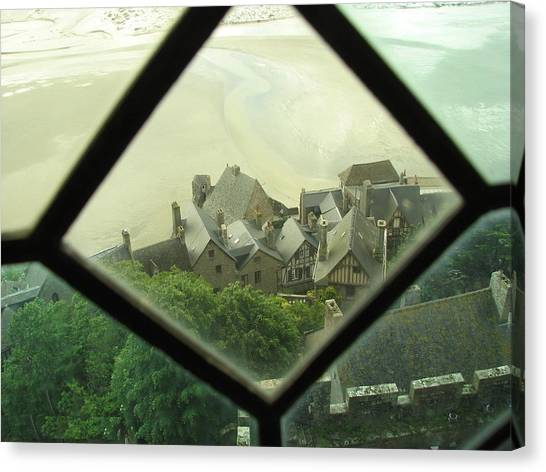 Through A Window To The Past Canvas Print