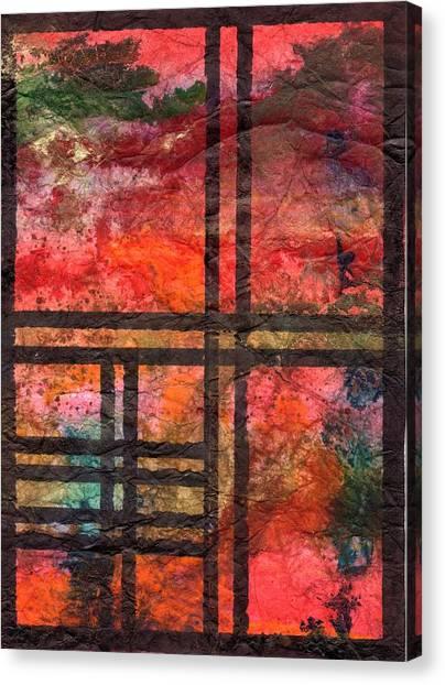 Through My Window 22 Canvas Print