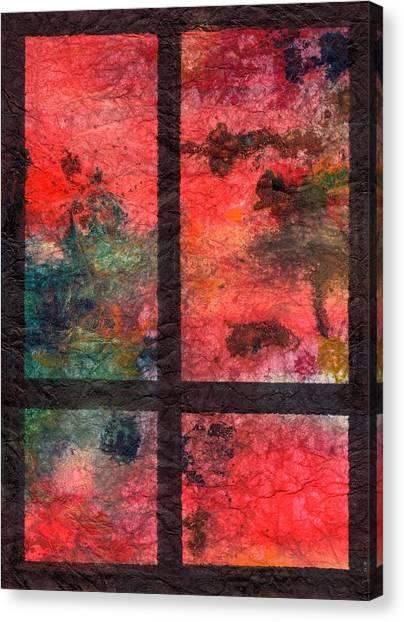 Through My Window 23 Canvas Print