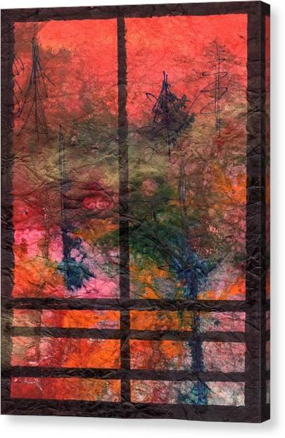 Through My Window 24 Canvas Print