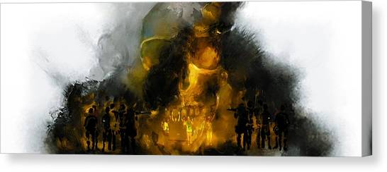 Through The Fire  Canvas Print