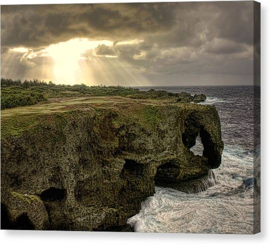 Through The Storm Canvas Print by Karen Walzer