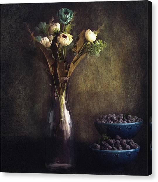 Through The Window Canvas Print by Farid Kazamil
