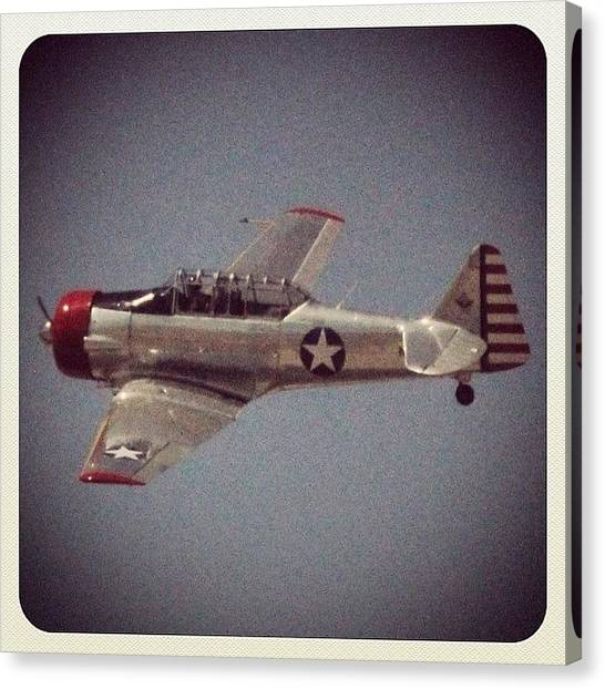 Prop Planes Canvas Print - throwback Thursday Airshow #prop by Tyler Schuh