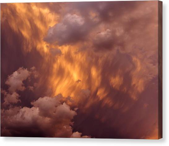 Thunder Clouds Canvas Print