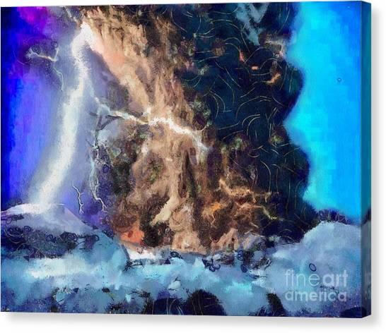 Thunder Struck Canvas Print