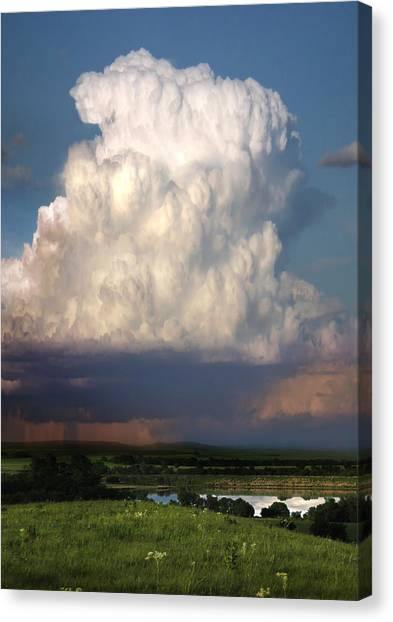 Thunderhead - Greenwood County Canvas Print