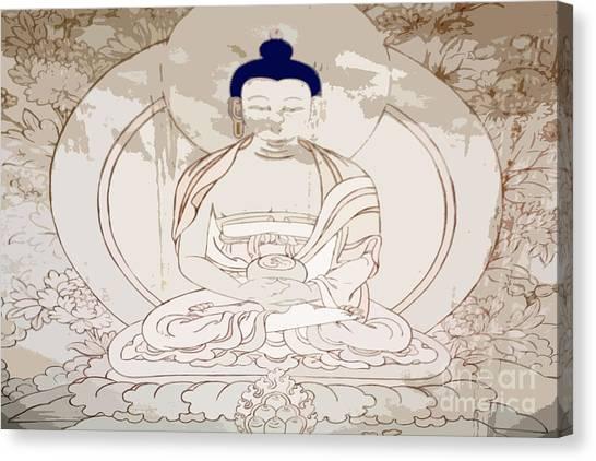 Tibet Buddha Canvas Print