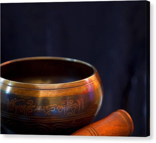 Tibetan Singing Bowl Canvas Print