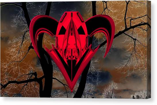 Ticker Symbol Spy Warrior Canvas Print