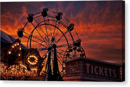 Tickets To Ride Canvas Print