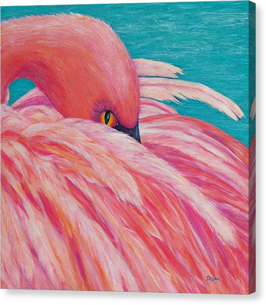 Tickled Pink Canvas Print