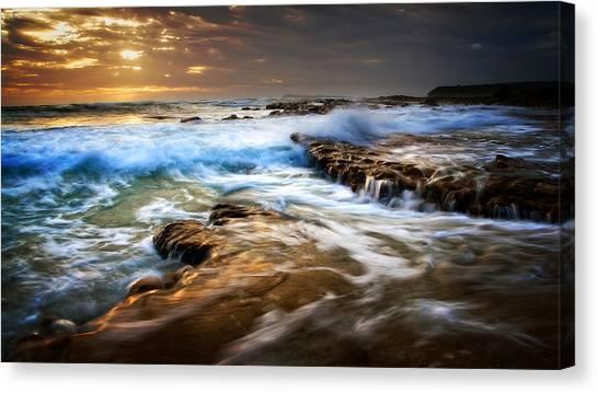 Tidal Wash Canvas Print