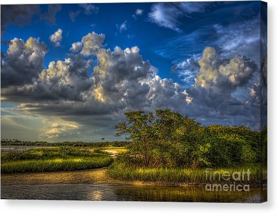 Saws Canvas Print - Tide Water by Marvin Spates
