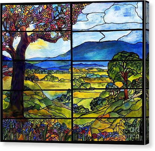 Tiffany Minnie Proctor Window Canvas Print