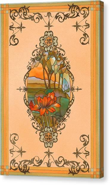 Tiffany Tree Canvas Print