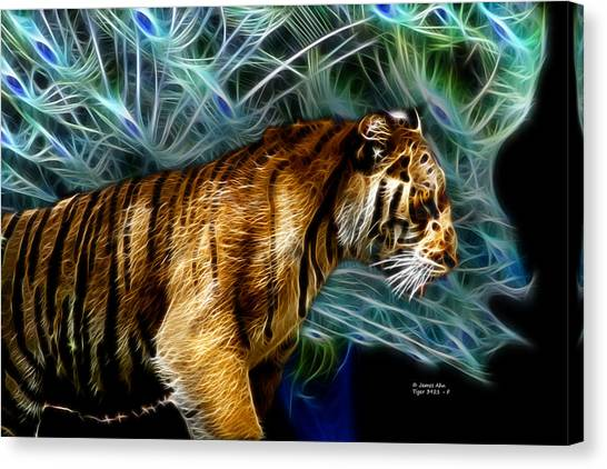 Tiger 3921 - F Canvas Print