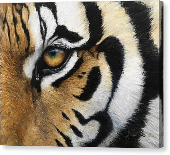Tiger Eye Canvas Print