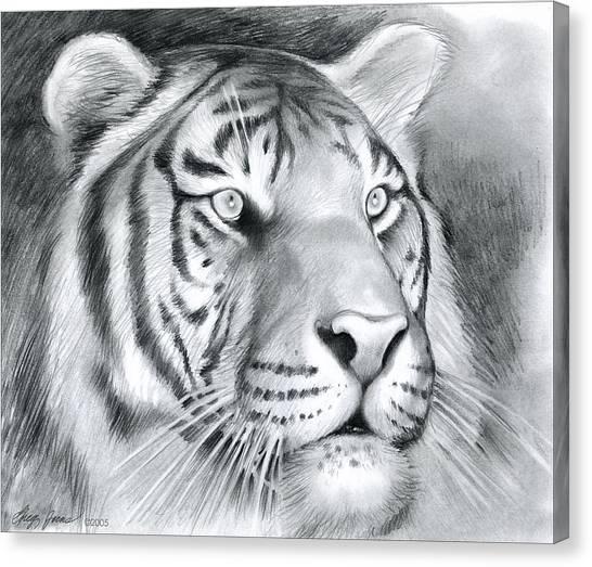 Tigers Canvas Print - Tiger by Greg Joens