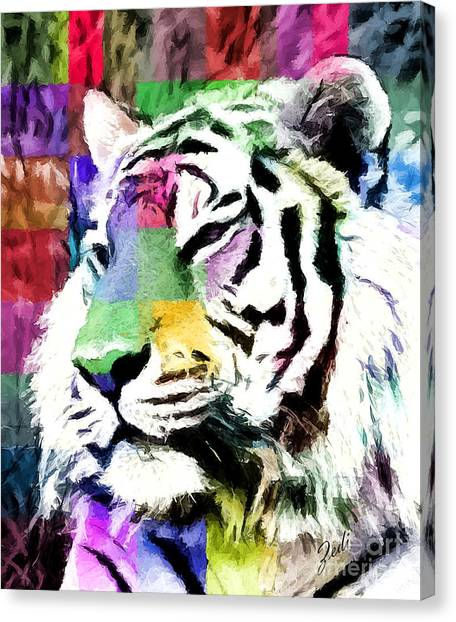 Tiger - Tigre Canvas Print