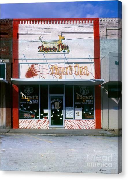 Tiger's Den  Watertown Tennessee Canvas Print by   Joe Beasley