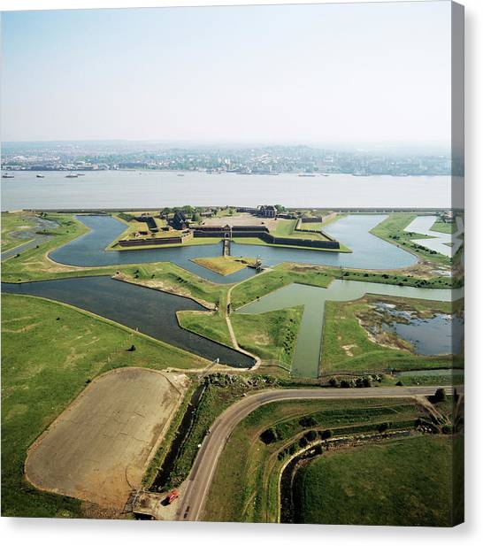 Tilbury Fort Canvas Print by Skyscan/science Photo Library
