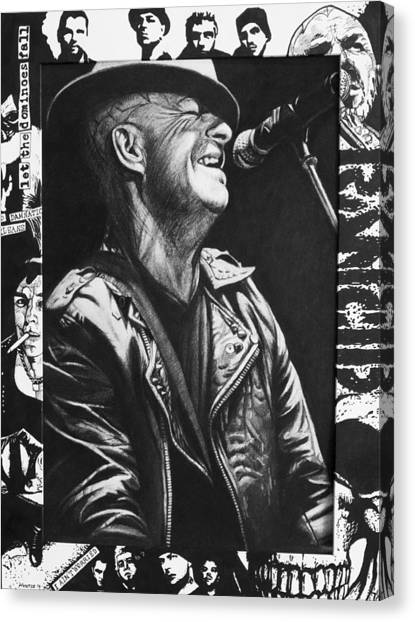 Tim Armstrong Canvas Print