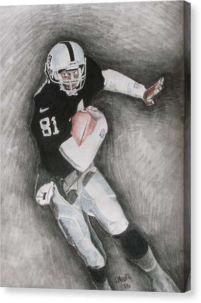 Tim Brown Canvas Print by Jeremy Moore