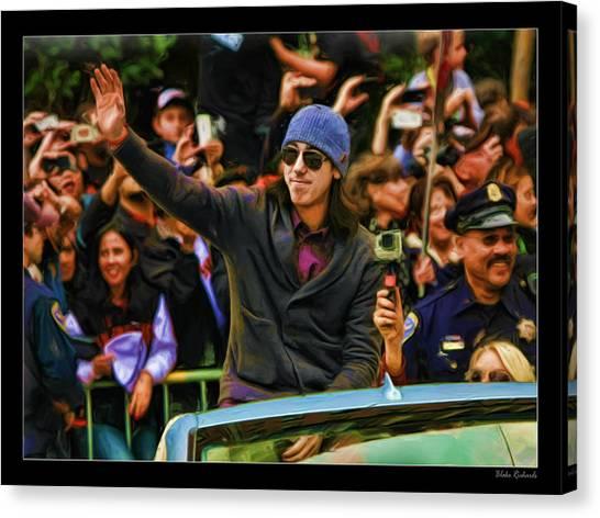 Tim Lincecum World Series 2012 Canvas Print