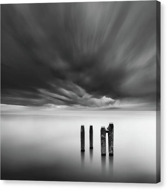 Storm Clouds Canvas Print - Time After Time by George Digalakis
