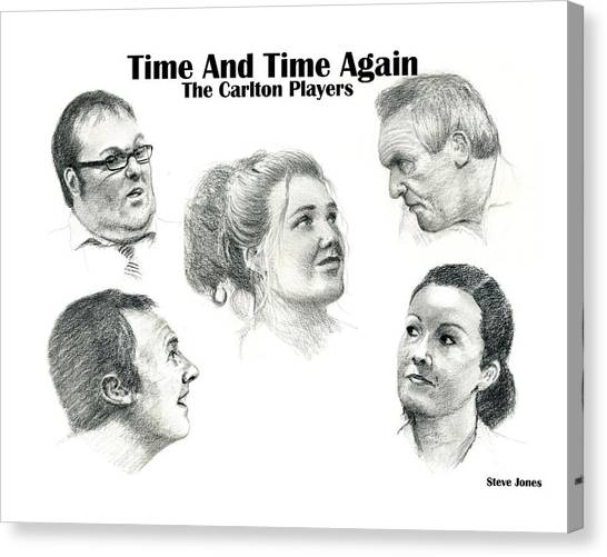 Time And Time Again Canvas Print by Steve Jones