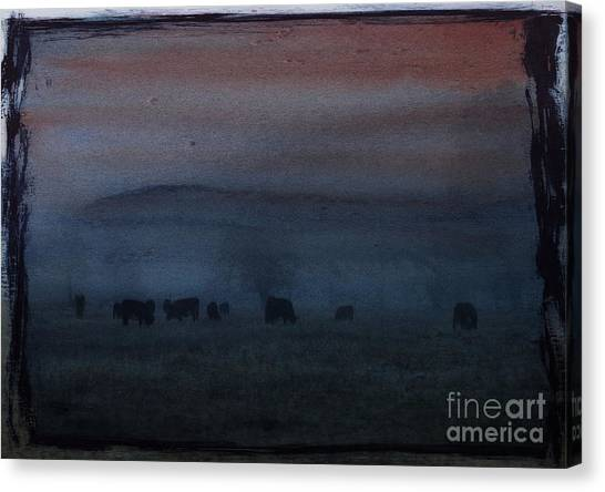 Time For Grazing Canvas Print