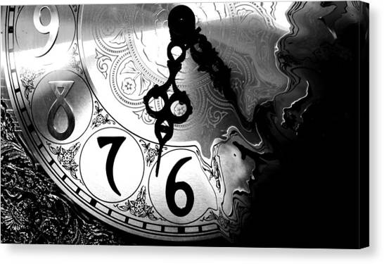 Time Is An Illusion Canvas Print