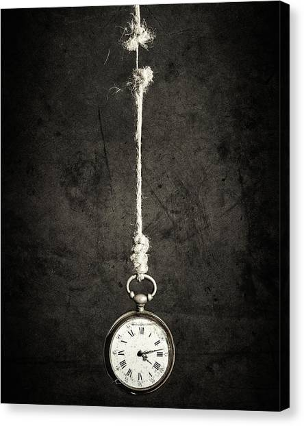 Time Is Up Canvas Print by Sergio Rapagn??