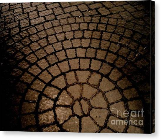 Pavers Canvas Print - Time by Janine Riley