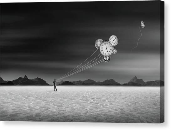 Keeper Canvas Print - Time Keeper by Swarnendu Ghosh
