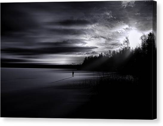 Time Left Behind Canvas Print