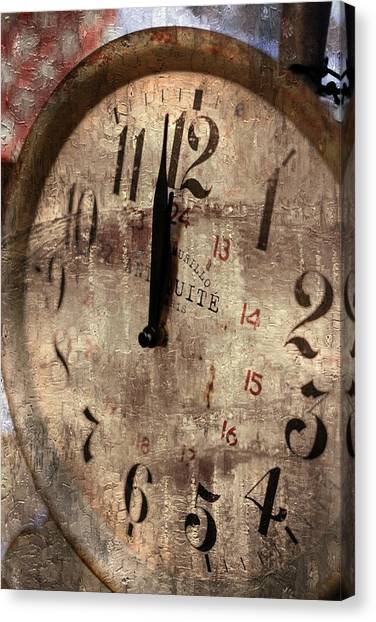 Time Moves Canvas Print by Michael Hope