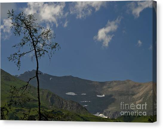 Time Stands Still High Alpine Region Austria Canvas Print